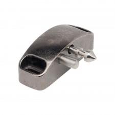 Stabiler Schließbolzen aus Zinkdruckguss (Zamak), mit Gegendruckmechanismus zum Aufdrücken der Front