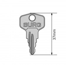 BURG Schlüssel Typ E