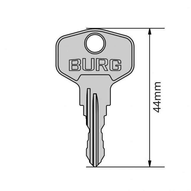BURG Schlüssel Typ F
