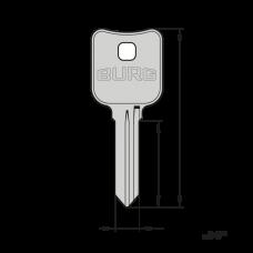 Schlüsselrohlinge Typ X